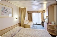 Superior Oceanview Stateroom with Balcony (D3)