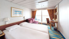 Oceanview Stateroom with Balcony (BB)