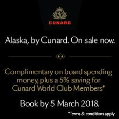 Alaska by Cunard