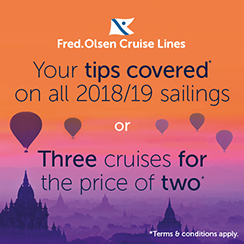 Fred. Olsen's Cruise Sale