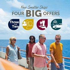 Four Smaller Ships, Four BIG Offers