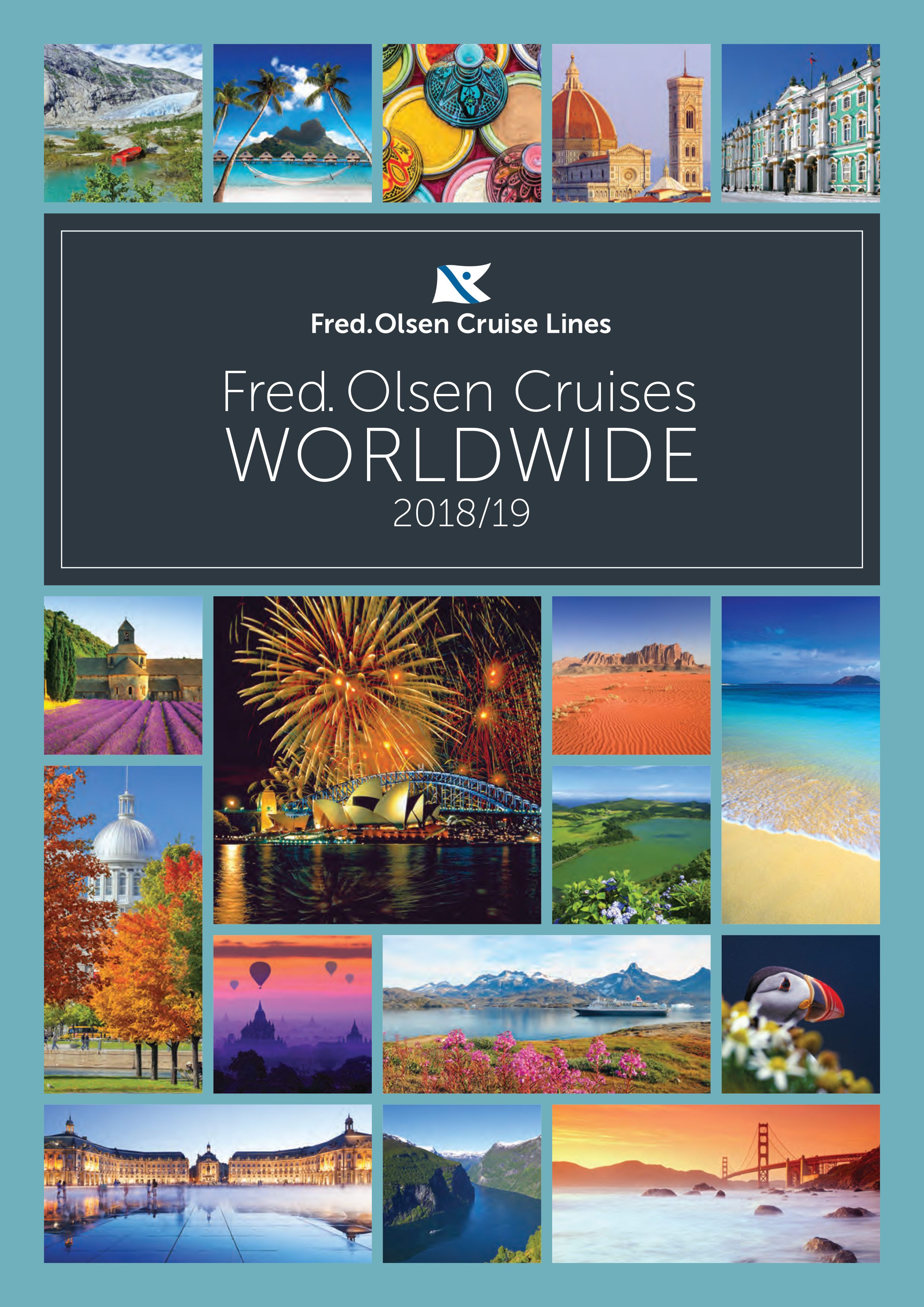 Fred. Olsen's 2018/19 brochure launch