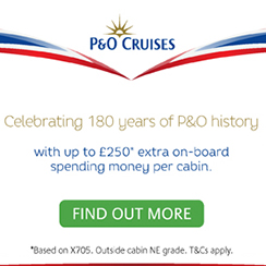 P&O Cruises Promotions