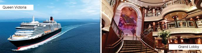 Cunard Cruises - Queen Victoria