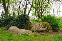 Mud Maid, Lost Gardens of Heligan, Cornwall