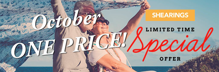 Shearings Holidays - October Offers