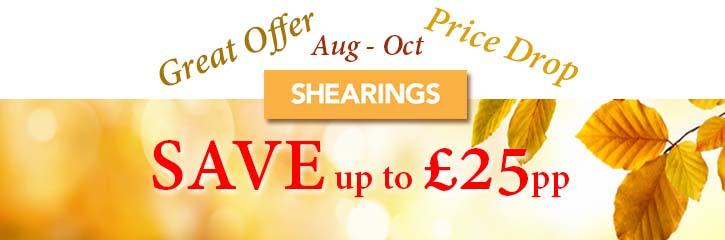 Shearings Holidays - Price Drop for Aug - Oct 2018