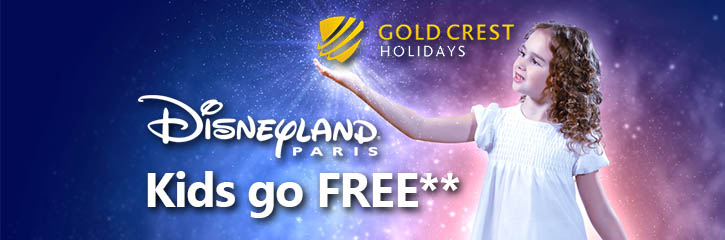 Gold Crest Holidays to Disneyland Paris