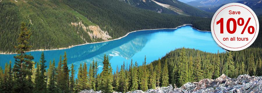 Travel to Banff National Park with Trafalgar Tours