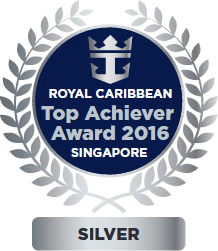 Royal Caribbean Top Achiever Award 2016 Singapore
