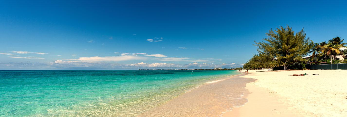 Discover white sandy beaches...