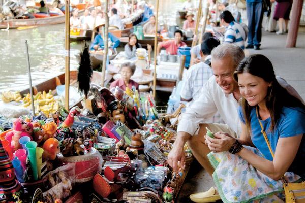 Bangkok Floating Market Image