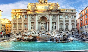Trevi Fountains Rome