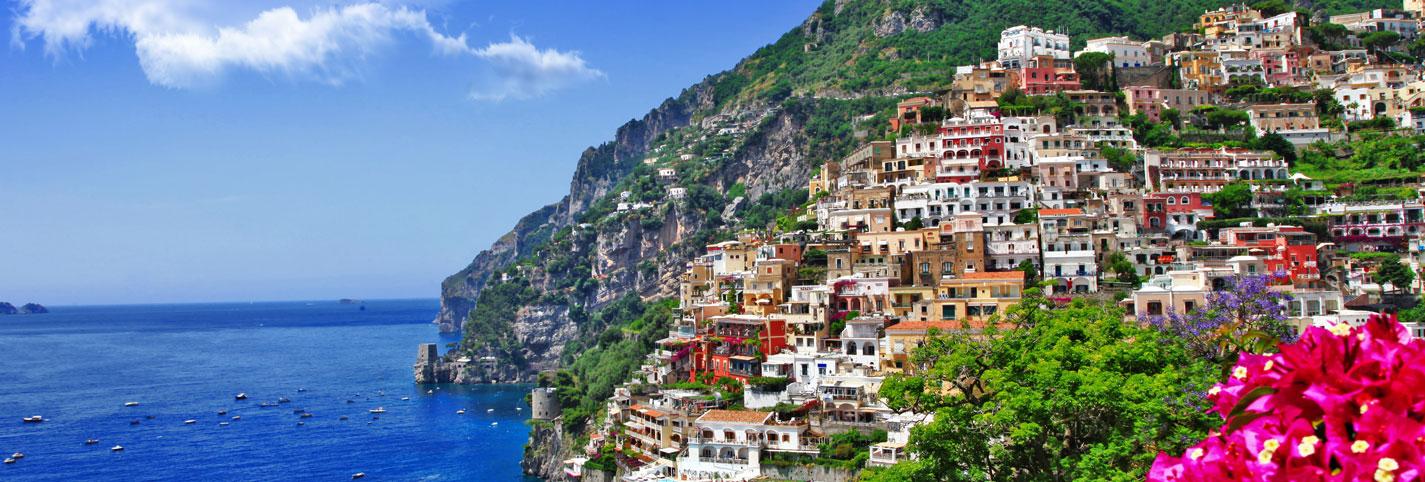 Discover the Amalfi Coast...