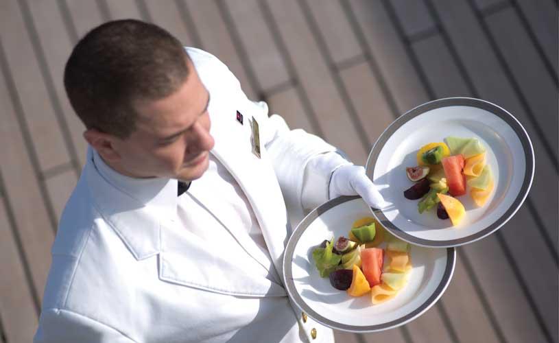 Cunard waiter