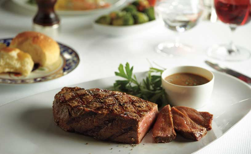 Holland America Line New York Steak