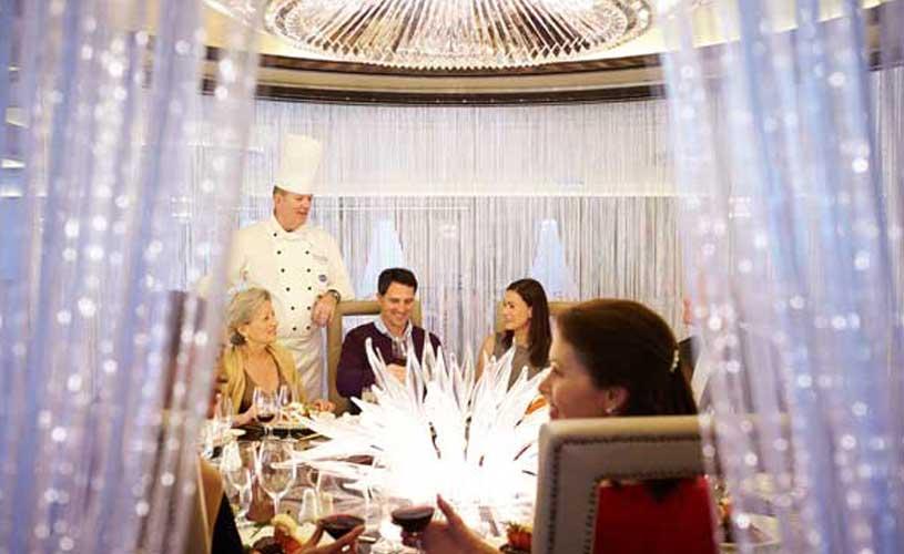 Princess chefs table