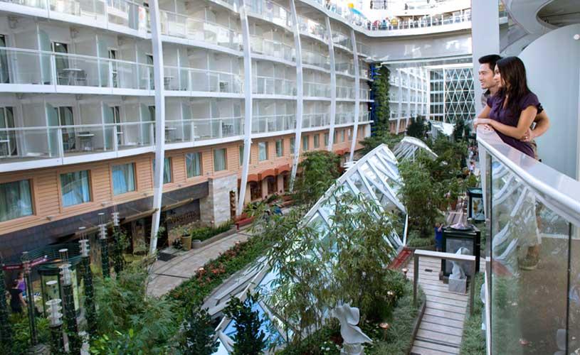 RCI Oasis balcony