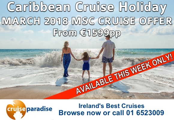 2018 Cruise Holiday Special Discount Offers