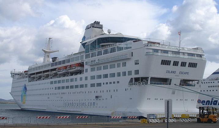 Island Escape Island Cruises Discount Cruise Liner for OAPs Pensioners Senior Citizens