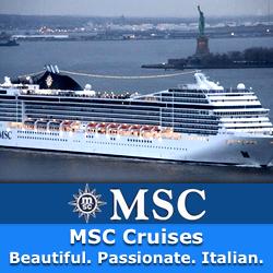 MSC Mediterranean Cruise Holidays