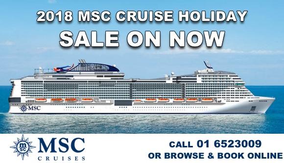 2018 Mediterranean MSC Cruise Holidays