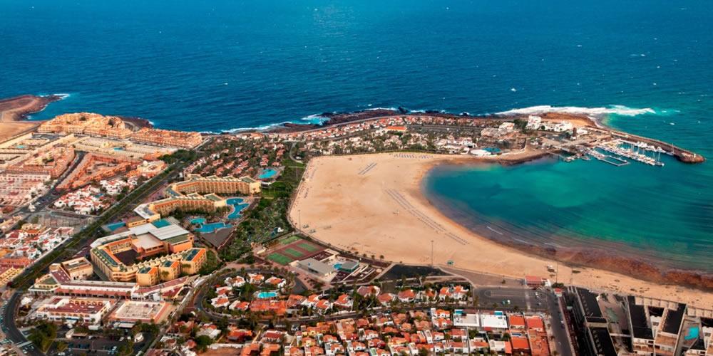 Caleta de Fuste in Fuerteventura