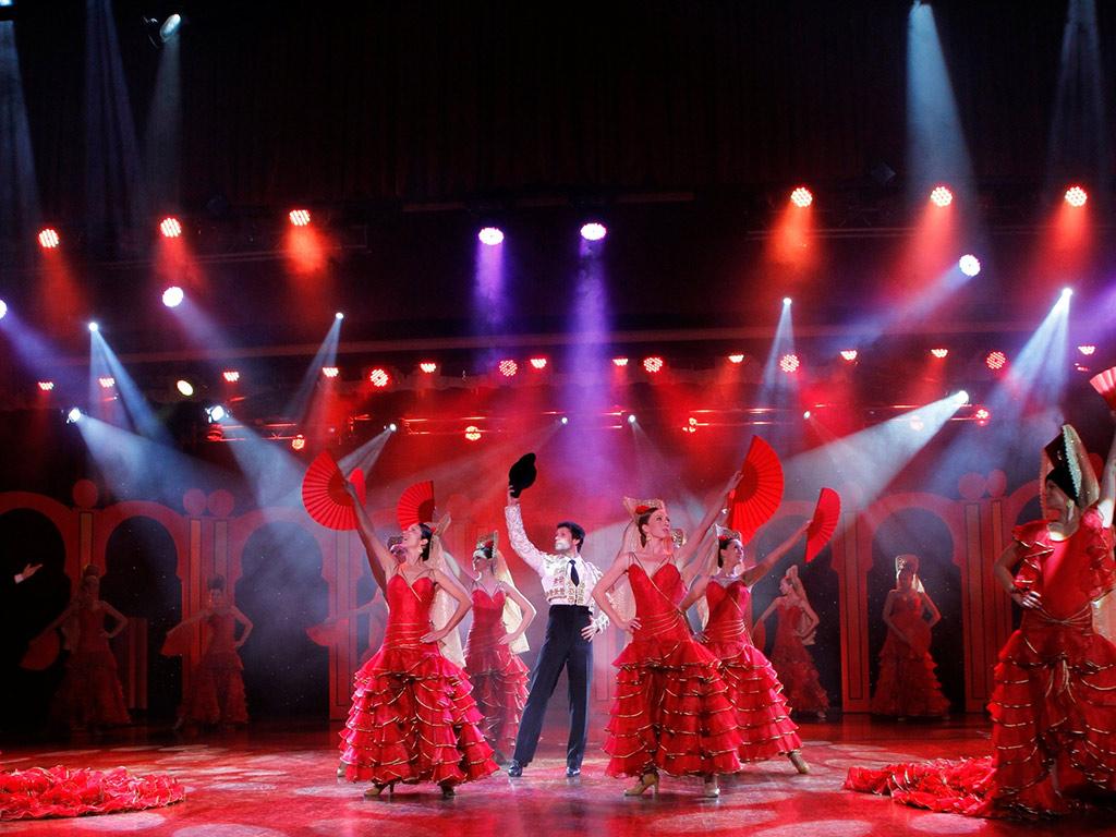 Benidorm Palace show
