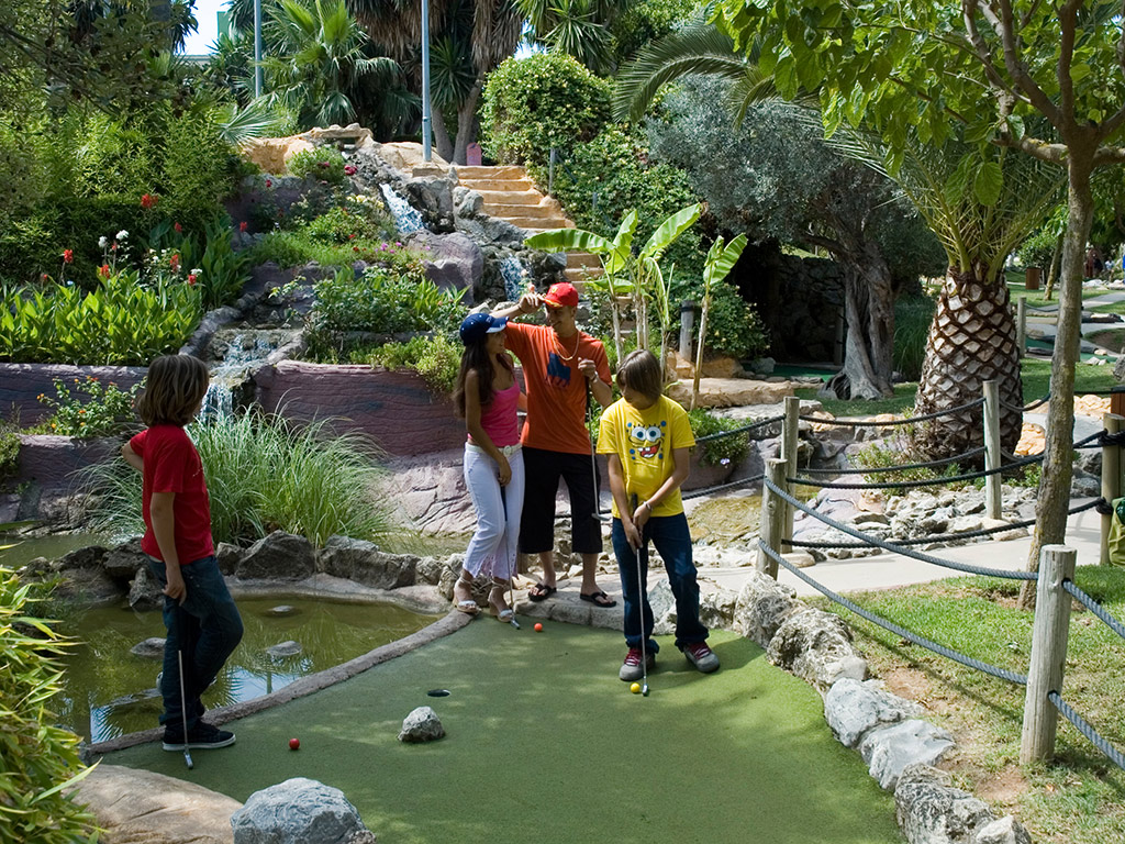 Fantasia mini-golf