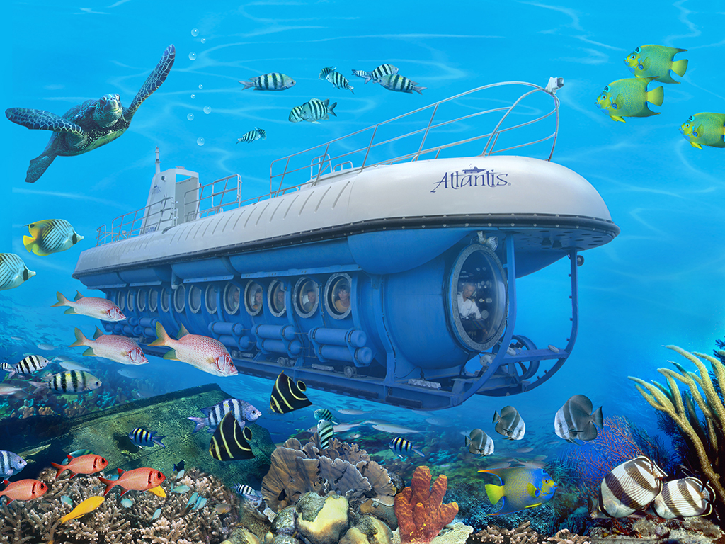 Atlantis submarine trip