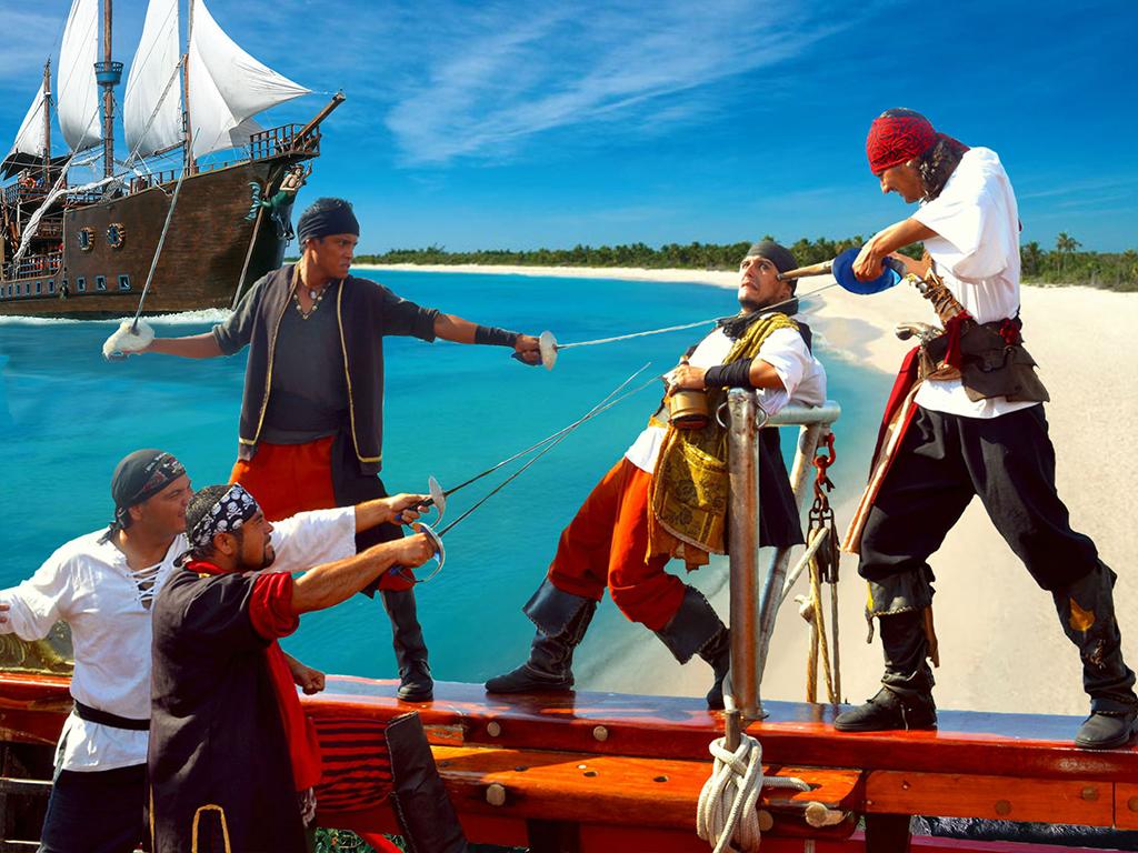 Pirate catamaran cruise