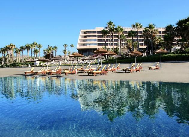 Uncrowded Limassol Beach