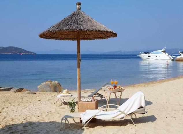 Ouranoupolis beach Halkidiki