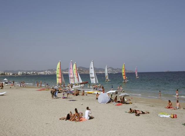 Playa den Bossa beach