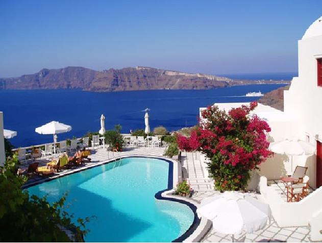 Villas to rent on Santorini