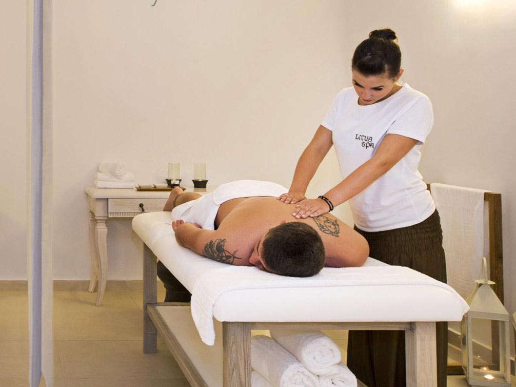 Spa treatments on Santorini