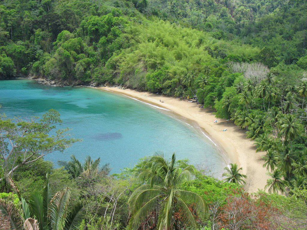 Tobago island tour includes Englishman's Bay