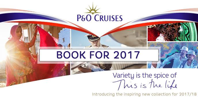 P&O Cruises - 2017-2018