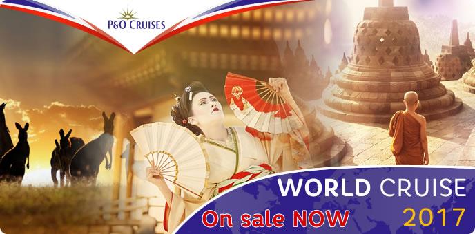 P&O Cruises - 2017 World Cruise