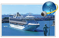 Golden Princess Webcam