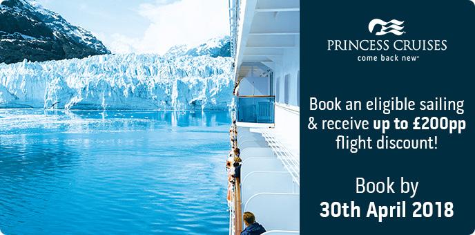 Princess Cruises Alaska Flight Discount