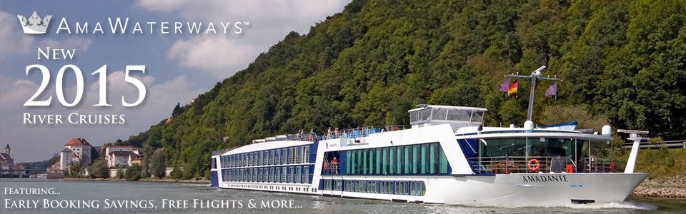 AmaWaterways 2015 River Cruises