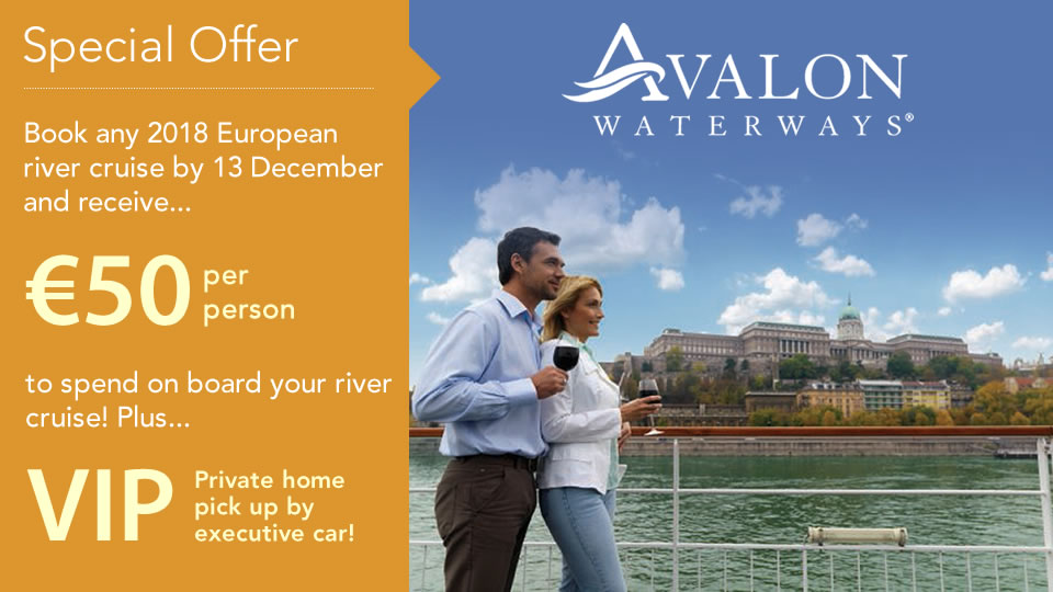 Avalon Waterways River Cruise Sale