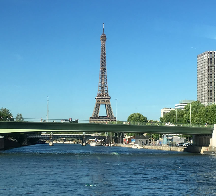 River Seine, Eiffel Tower