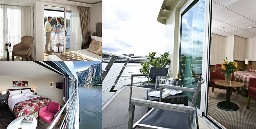 River Cruising Balcony Staterooms
