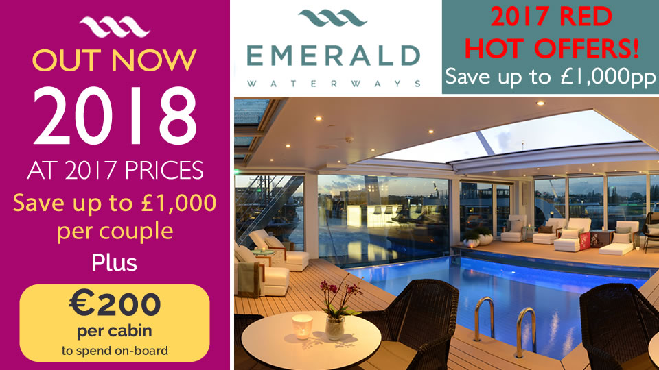 European River Cruises 2017 2018 Emerald Waterways Autos