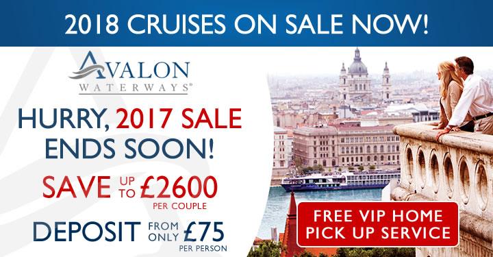 Avalon Waterways 2017 & 2018