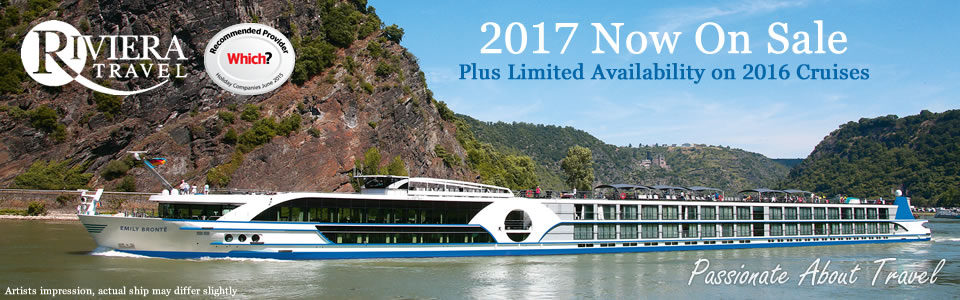 Riviera Travel 2017 River Cruises