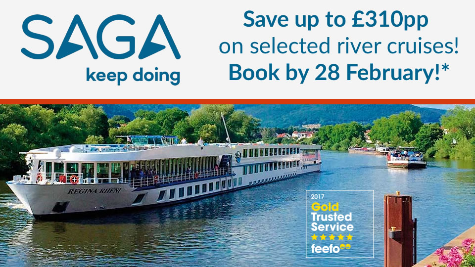 Saga River Cruises 2018