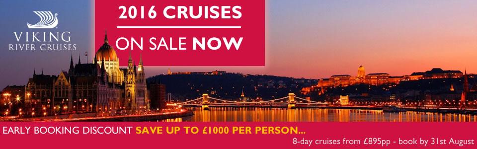 Viking River Cruises 2016 Programme